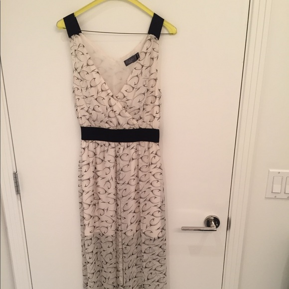 Costa Blanca Dresses & Skirts - Ivory and black maxi dress size S